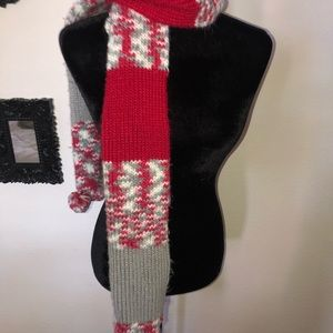 Ohio State colored scarf 🧣